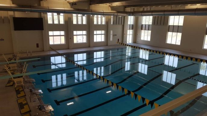 Cleveland Heights High Indoor Pool