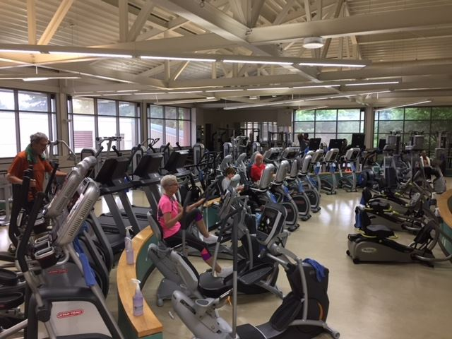 Fitness Center Reopening